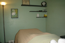 Massage therapy room at Massage Works